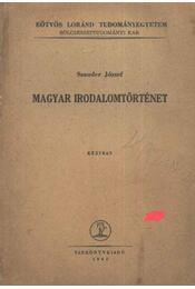 Magyar irodalomtörténet - Régikönyvek