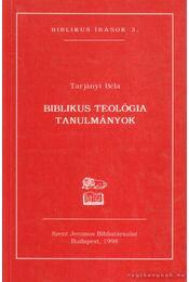 Biblikus teológia - Régikönyvek