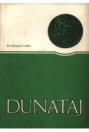 Dunatáj III. évfolyam 2. szám - Régikönyvek