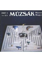 Múzsák Múzeumi Magazin 1987. évf. (teljes) - Régikönyvek