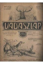 Vadászlap 1917. november 5. - Régikönyvek