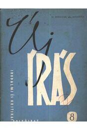 Új Írás 8. IV. évfolyam 1964. augusztus - Régikönyvek