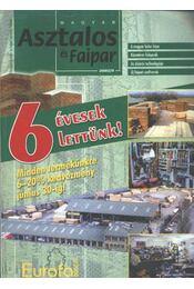 Magyar Asztalos és Faipar 2002/5. - Régikönyvek