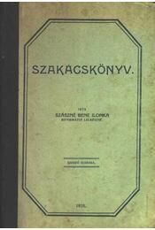 Szakács könyv - Régikönyvek