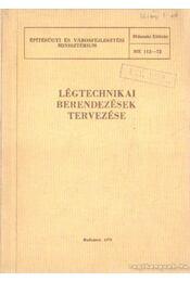 Légtechnikai berendezések tervezése - Régikönyvek
