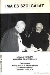 Ima és szolgálat - Régikönyvek