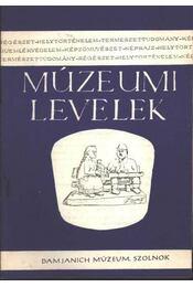 Múzeumi levelek 29-30. sz. - Régikönyvek