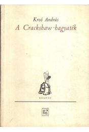 A Crackshaw-hagyaték - Régikönyvek