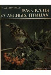 Elbeszélések az erdei madarakról (Рассказы о лесных птицах) - Régikönyvek