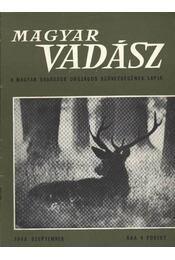 Magyar Vadász 1968/9. - Régikönyvek