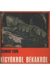 Kígyókról, békákról - Régikönyvek