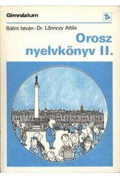 Orosz nyelvkönyv II. - Régikönyvek