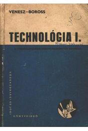 Technológia I. - Régikönyvek
