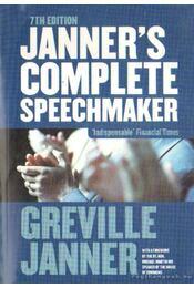 Janner's complete speechmaker (angol-nyelvű) - Régikönyvek