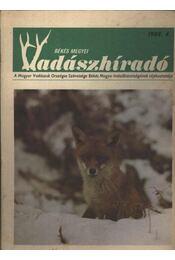 Békés megyei Vadászhíradó 1989/4. - Régikönyvek