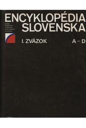 Encyklopédia Slovenska A-Z I-VI. kötet - Régikönyvek