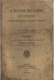 A magyar magánjog - Régikönyvek