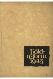 Földreform 1945 - Régikönyvek