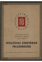 Biológiai szertárak felszerelése - Régikönyvek