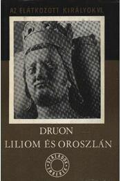 Liliom és oroszlán - Régikönyvek