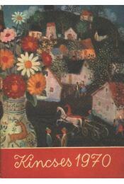 Kincses kalendárium 1970. - Régikönyvek