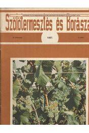 Szőlőtermesztés és borászat 1987 2. szám - Régikönyvek
