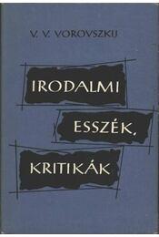 Irodalmi esszék, kritikák - Régikönyvek