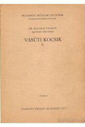 Vasúti kocsik II. - Régikönyvek