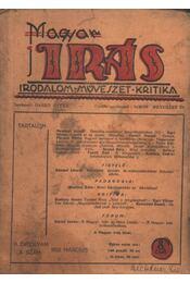 Magyar Írás 1933/3. - Régikönyvek