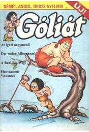 Góliát (Az igazi nagymenő!) - Régikönyvek