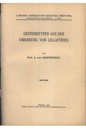 Gesteinstypen aus der Umbebung von Lillafüred - Régikönyvek