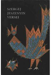 Szergej Jeszenyin versei - Régikönyvek