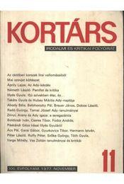 Kortárs 1977/11. - Régikönyvek
