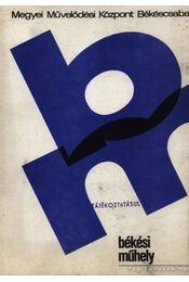 Békési műhely1984-2 Mezőberényi szlovák népdalok - Régikönyvek