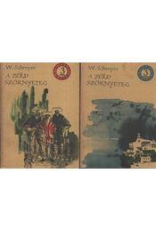 A zöld szörnyeteg I-II. kötet - Régikönyvek