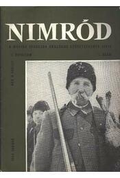 Nimród 1969. évfolyam (teljes) - Régikönyvek
