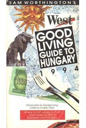 Good living guide to Hungary 1994 - Régikönyvek