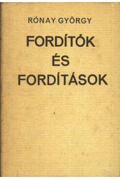 Fordítók és fordítások - Régikönyvek