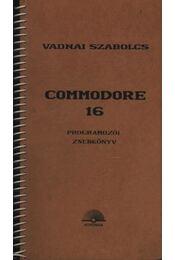 Commondore 16 - Régikönyvek