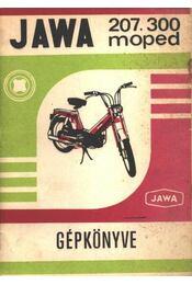 Jawa 207.300 moped gépkönyve - Régikönyvek