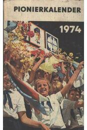 Pionerkalender 1974. - Régikönyvek