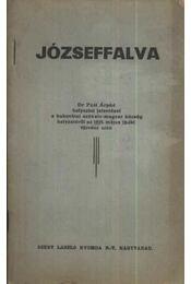 Józseffalva - Régikönyvek
