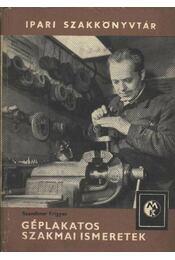 Géplakatos szakmai ismeretek - Régikönyvek