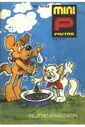 Mini Pajtás 1981. nyár - Régikönyvek