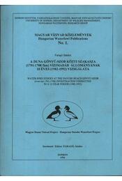 Magyar vízivad közlemények 1 - Régikönyvek