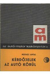 Kérdőjelek az autó körül - Régikönyvek