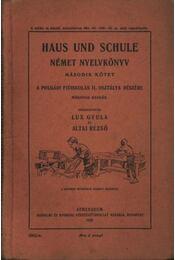 Haus und schule - Régikönyvek