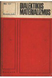 Dialektikus materializmus - Régikönyvek