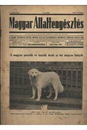 Magyar állattenyésztés 1940. okt. 1. - Régikönyvek