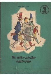 Az icike-picike emberke - Régikönyvek